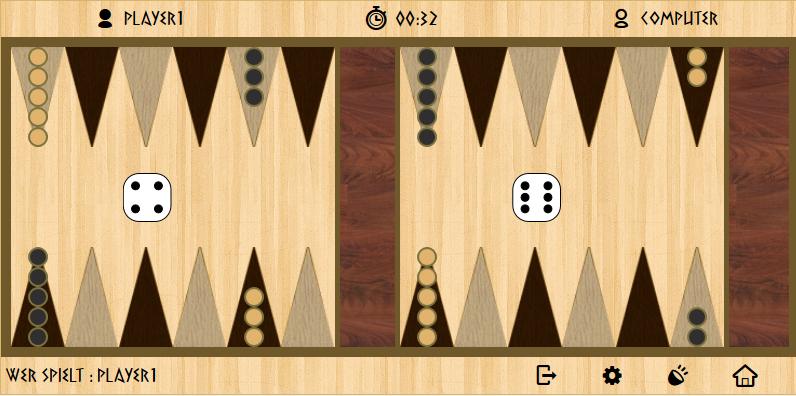 Jetztspielen De Backgammon