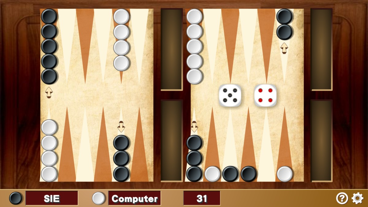 Image Mini Backgammon Game