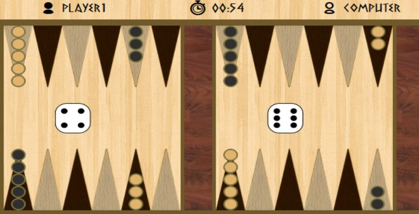 HTML5-Backgammon