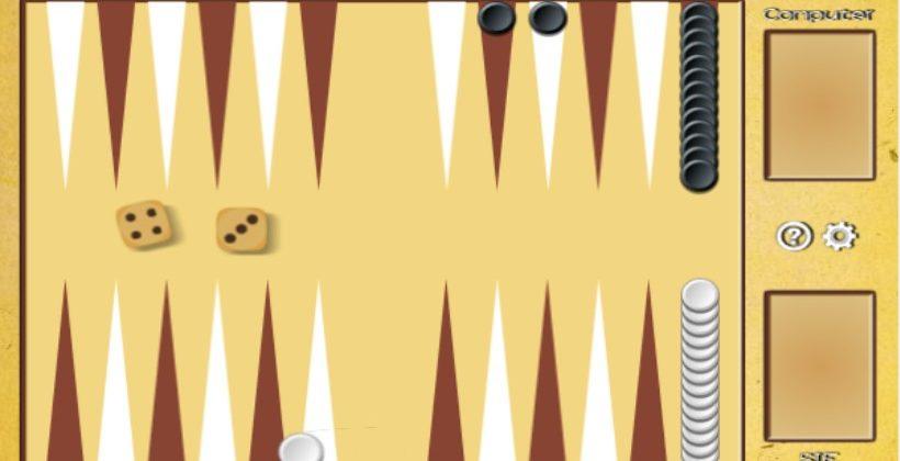 Tapa Backgammon