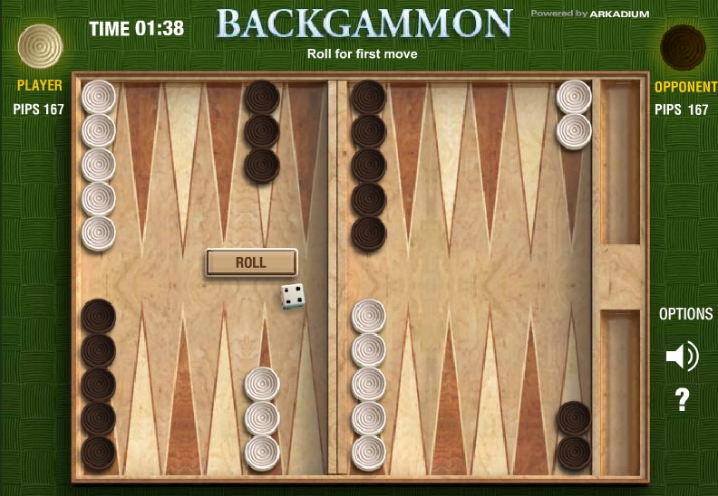 Image Backgammon Flash